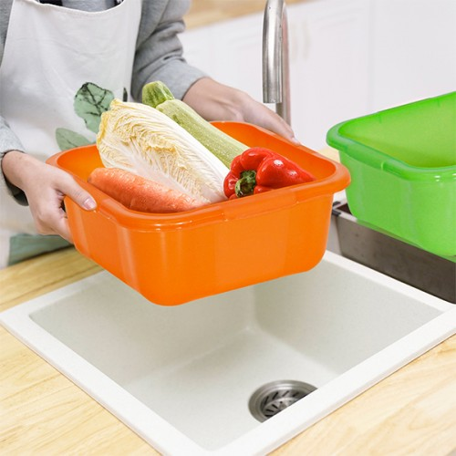 BASSINE ALIMENTAIRE CARRÉE 15 L